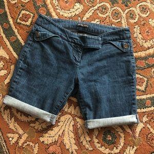 NY&C cut-off denim shorts